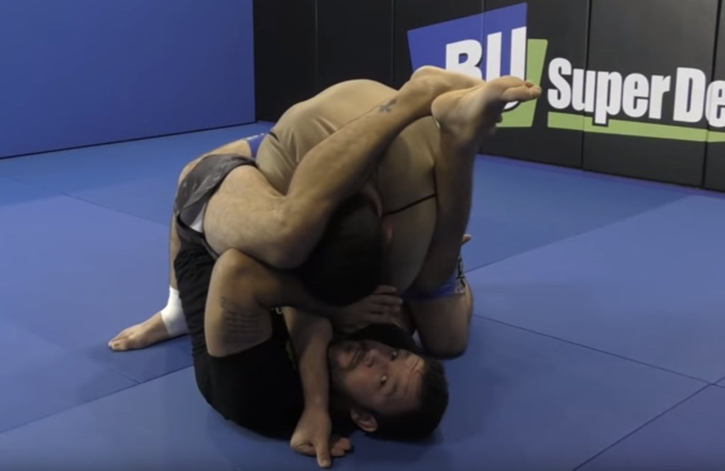 Getting Stacked During Arm Bars?  Tom DeBlass Has The Answer