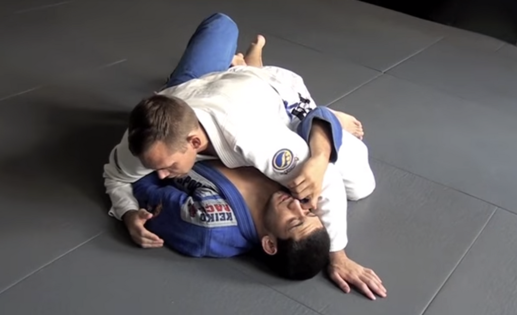 Block Under Hook Half Guard Sweep With Paul Schreiner