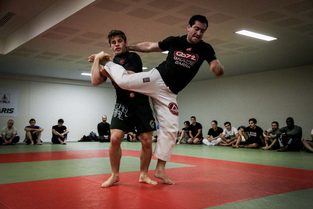 How Takedowns will enhance your Half Guard