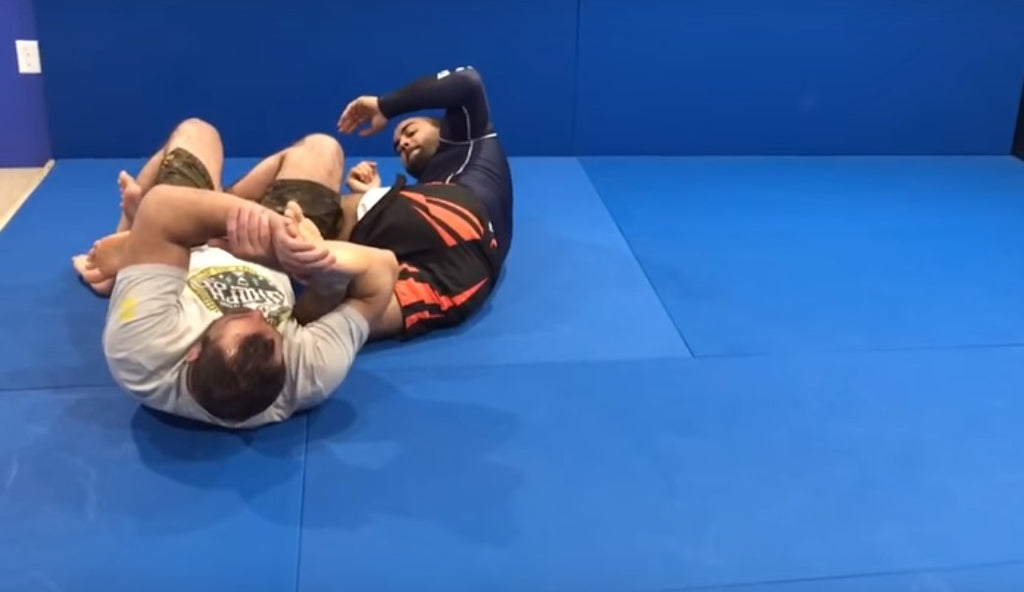 Add This Toe Hold To Your Game From Dean Lister