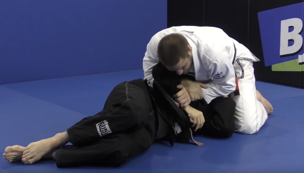 The Travis Stevens Kimura From Side Control... GOAT?
