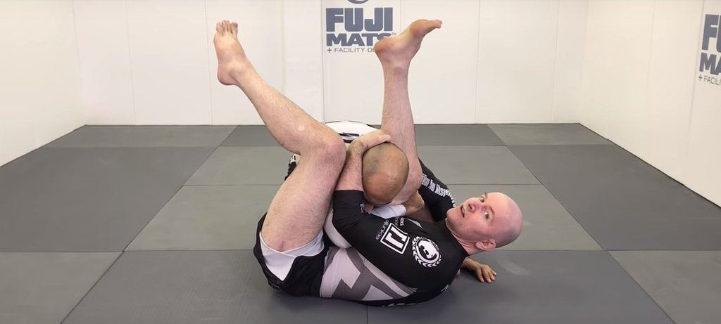 John Danaher Demonstrates the Side Triangle Using the Guard Pass and the Kimura