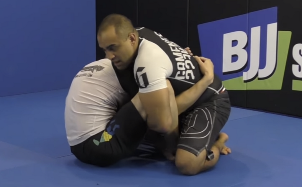 Pass The Butterfly Guard And Take Back With Yuri Simoes Butterfly Cradle
