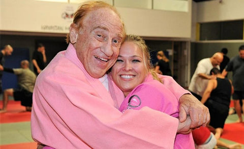 gene lebell and ronda rousey