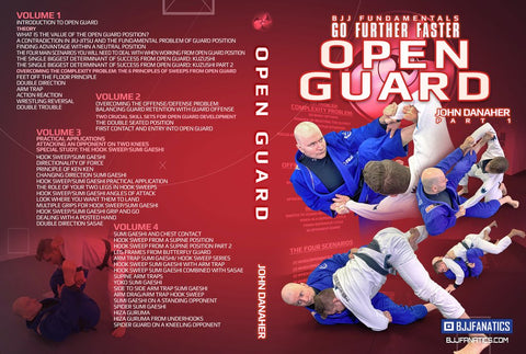 John Danaher Teaches Open Guard BJJ