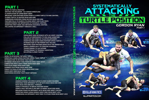 Learn How to Attack From Turtle Position in BJJ