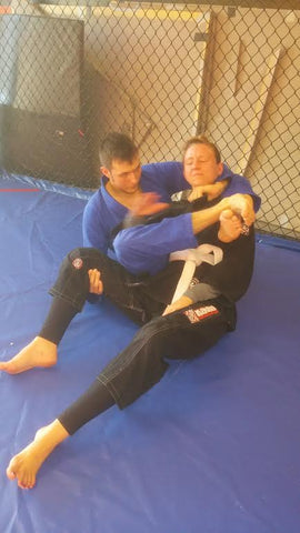Bow and Arrow Back Choke Instruction Step 6