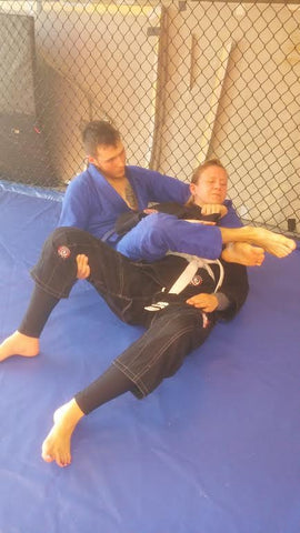 Bow and Arrow Back Choke Instruction Step 7