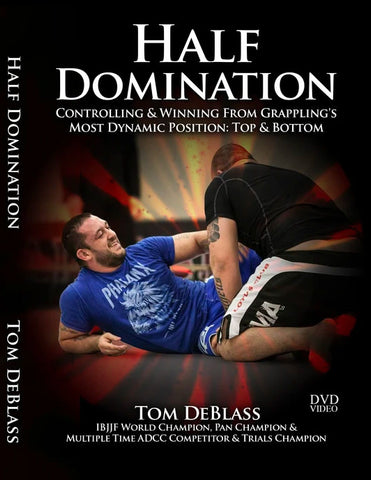 Half Domination by Tom DeBlass DVD Cover