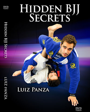 Cover of DVD set instructional video on Hidden BJJ Secrets taught by Luiz Panza