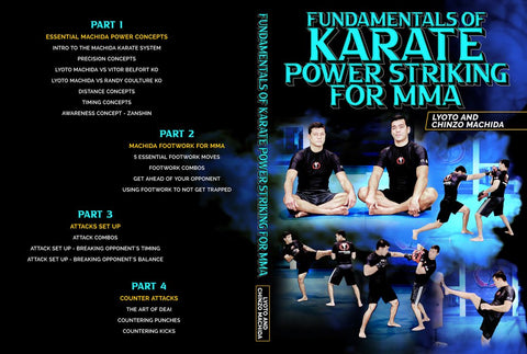 Machida Fundamentals of Karate Power Striking MMA
