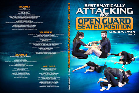 Open Guard Seated Position Instruction by Gordon Ryan