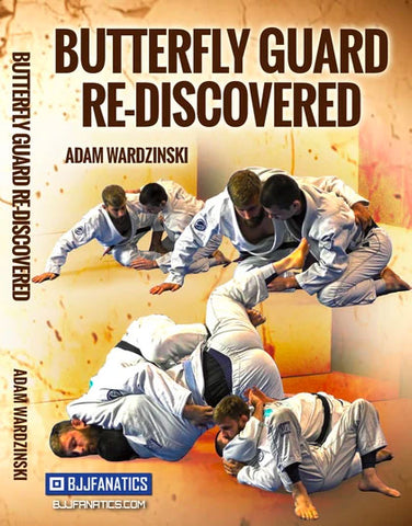 Butterfly Guard Re-Discovered Adam Wardzinski DVD Wrap