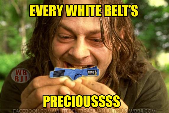 White Belts Lord Of The Rings Meme