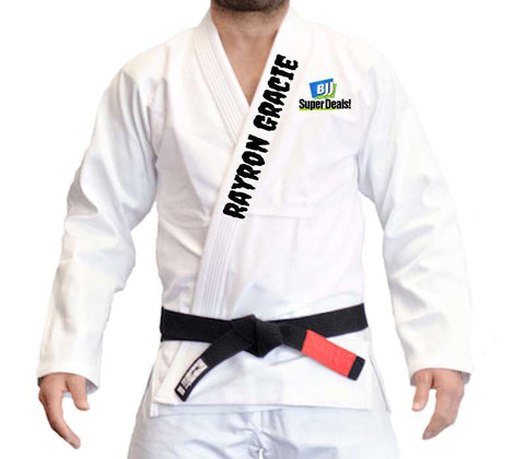 Custom BJJ Gi (White)
