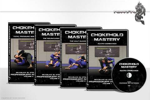 Chokehold Mastery by Jeff Patterson DVD