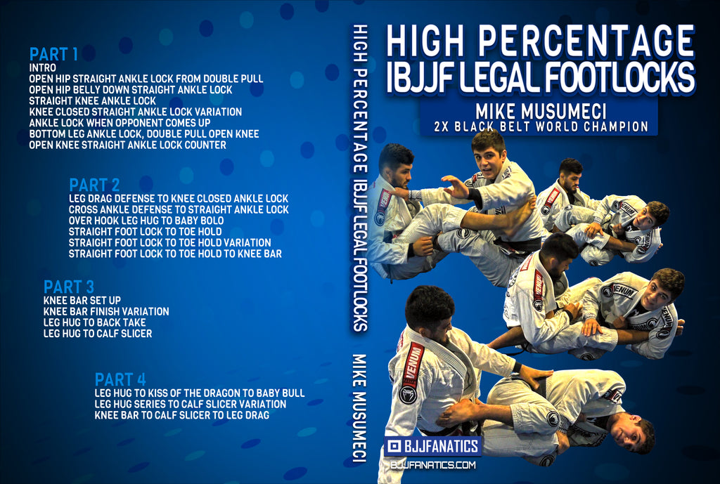HIGH PERCENTAGE IBJJF LEGAL FOOTLOCKS BY MIKEY MUSUMECI