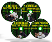 The BJJ Formula by Stephan Kesting - (4 DVD Set) FREE SHIPPING
