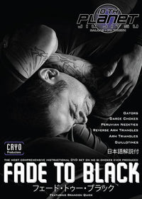 Fade to Black: No Gi Chokes 6 Vol DVD Set with Brandon Quick