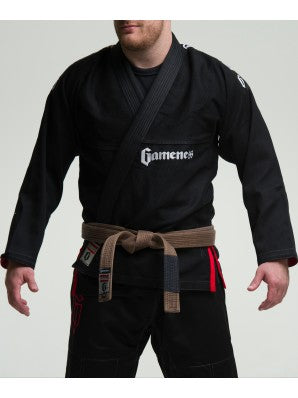 Gameness Pearl Gi (White, Blue, Black)