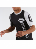 Gameness Youth Black Short-Sleeve Pro Rank Rash Guard