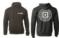 BJJ Fanatics Anthracite Logo Sweater Grey