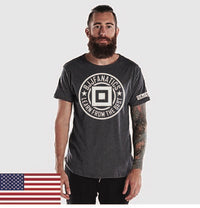 BJJ Fanatics Anthracite Logo Shirt