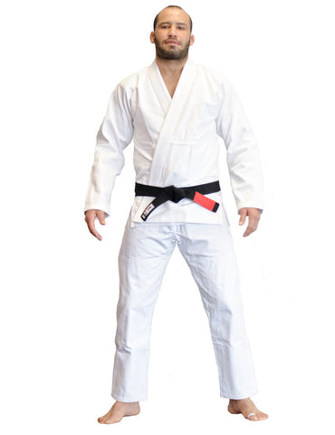 BJJ Gi (Plain White)