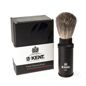 Kent Pure Badger Travel Shaving Brush (Shave TR2)