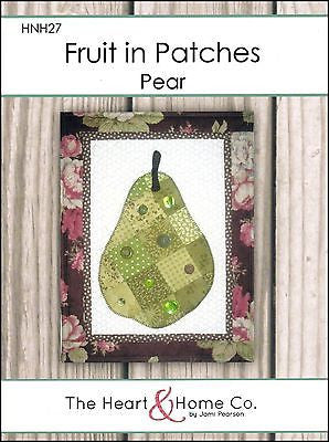 HNH27 Fruit In Patches - Pear Paper Pattern