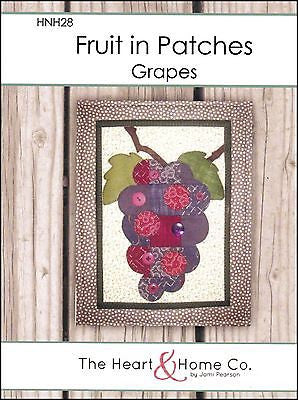 HNH28 Fruit In Patches - Grapes Paper Pattern