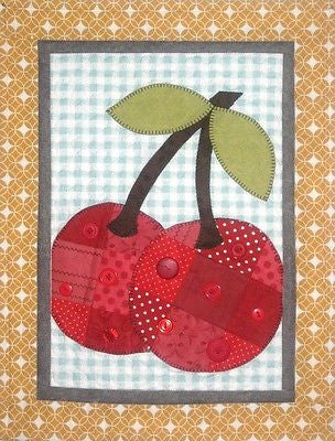 HNH25 Fruit In Patches - Cherries Paper Pattern