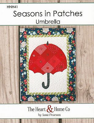 HNH41 Seasons In Patches - Umbrella Paper Pattern