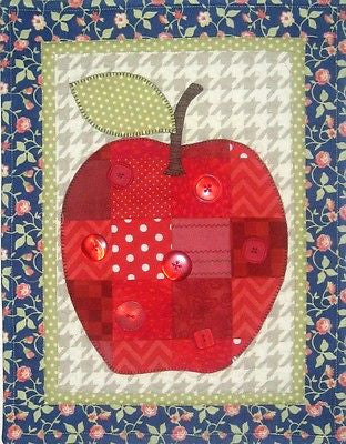 HNH26 Fruit In Patches - Apple Paper Pattern