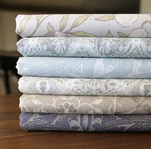 Dots & Posies by Poppie Cotton ~ 6 Fat Quarter Bundle ~