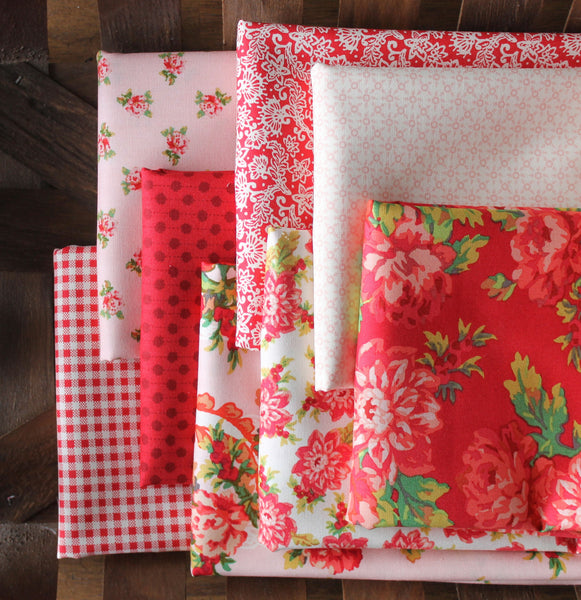 Rue 1800 by 3 Sisters for Moda 8 Fat Quarter Bundle