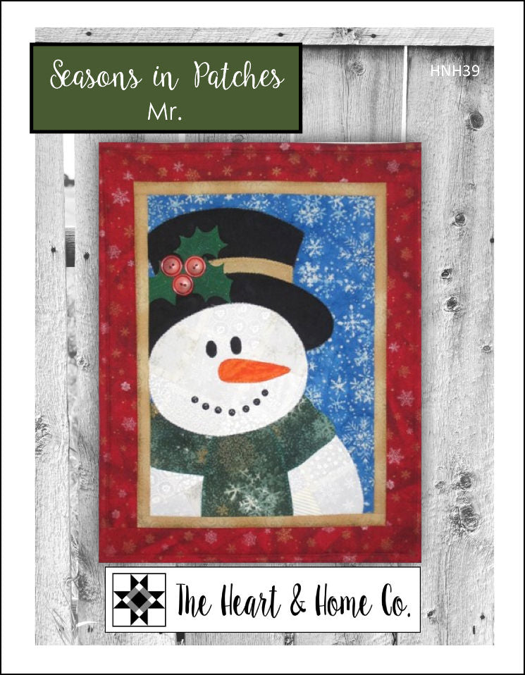 HNH39 Seasons In Patches Mr. PDF Pattern