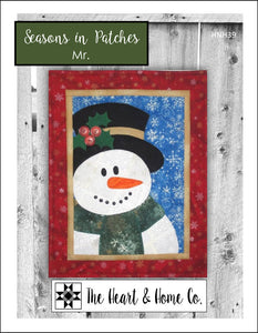 HNH39 Seasons In Patches Mr. Paper Pattern