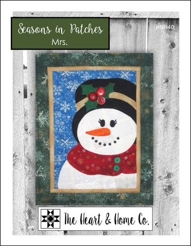 HNH40 Seasons In Patches Mrs. Paper Pattern