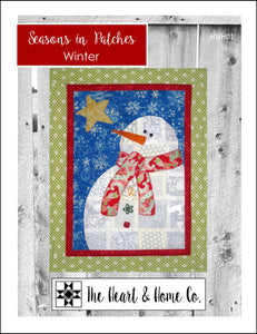 HNH01 Seasons in Patches Winter PDF Pattern