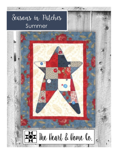 HNH03 Seasons In Patches Summer Paper Pattern