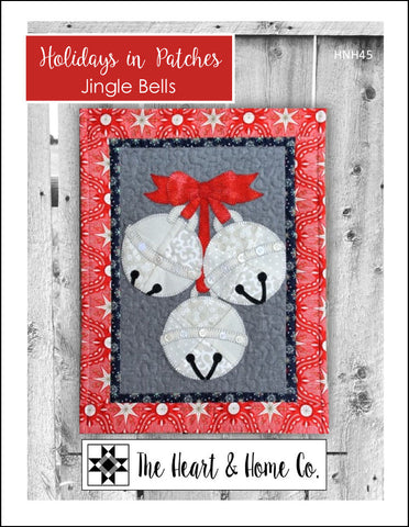 HNH45 Holidays in Patches Jingle Bells Paper Pattern