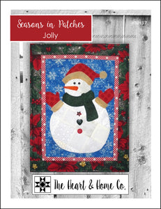 HNH37 Seasons In Patches Jolly Paper Pattern