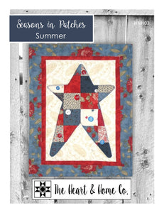 HNH03 Seasons In Patches Summer PDF Pattern