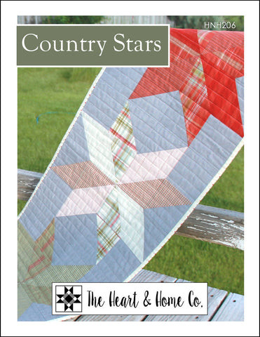 HNH206 Country Stars Paper Pattern