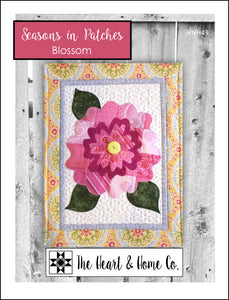 HNH43 Seasons In Patches - Blossom PDF Pattern