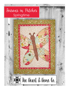 HNH06 Seasons In Patches  Springtime Paper Pattern