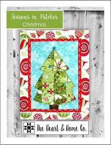 HNH05 Seasons In Patches  Christmas PDF Pattern