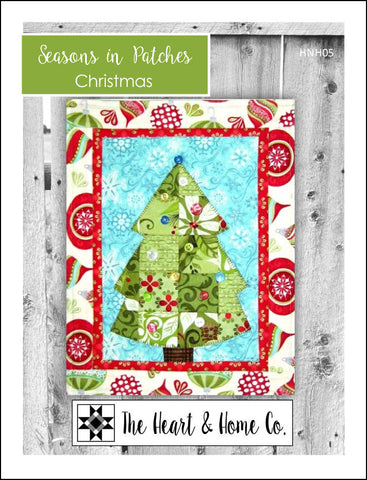 HNH05 Seasons In Patches  Christmas Paper Pattern