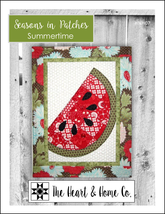 HNH07 Seasons In Patches Summertime Paper Pattern